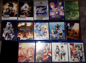 BIG ANIME COLLECTION. WON'T FIND CHEAPER ELSEWHERE