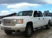 2007 GMC 3500HD 4x4 crewcab/longbox