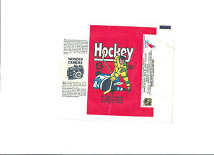 1975-76 O PEE CHEE NHL WRAPPER AND 1974 TOPPS BB WRAPPER