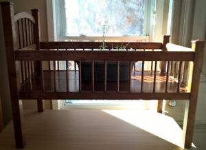Antique Crib -  Indoor potted plant display or coffee table