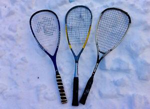 For sale- squash racqets