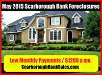 Scarborough - Bank foreclosures $1200 a mo.