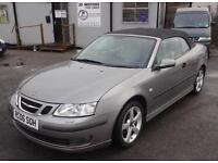 2006 (06) Saab 9-3 1.8t Cerulean Vector Convertible Grey