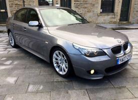 BMW 525D M SPORT 3.0TD LCI AUTO DIESEL 2007 FSH LCI WIDESCREEN SAT NAV