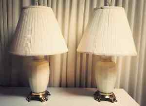 White Glass Lamps