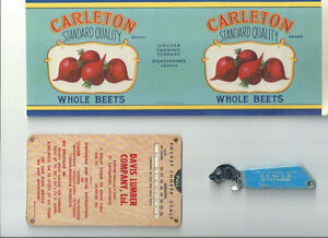 OLD ST. CATHARINES ADVERTISING COLLECTIBLES