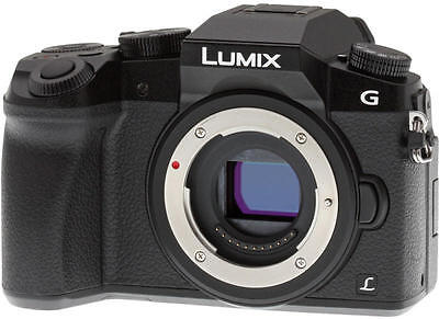 Panasonic Lumix DMC-G7 Mirrorless Micro Four Thirds Digital Camera - Black