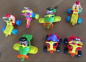 McDonalds 1990/91 Meal Toys