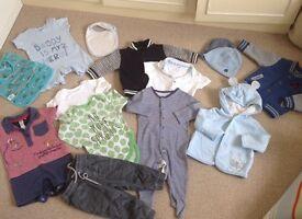 Boys 6-9 months clothing bundle.