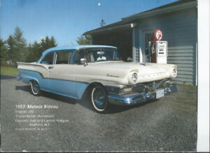 VERY RARE 1957 METEOR RIDEAU, TWO DOOR SEDAN