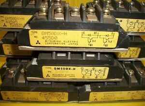 MITSUBISHI-ELECTRIC-TRANSISTOR-QM50DX-H-LOT-0F-10
