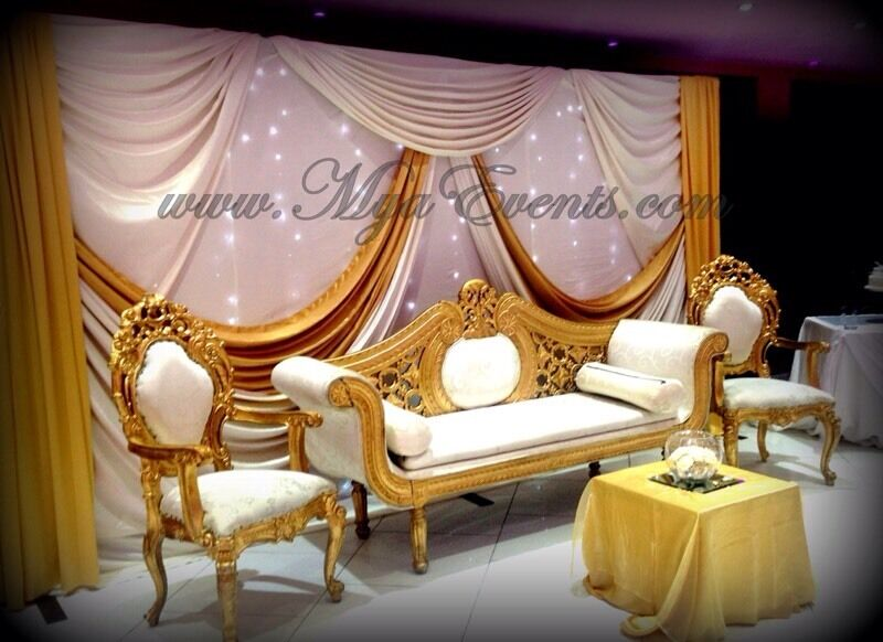 Wedding Stage Decor Rental 163 299 Sweetheart Chair Hire