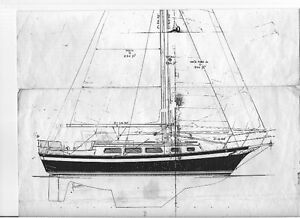 Steel sailboat