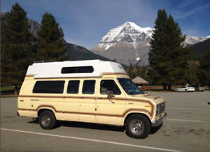 Iconic Terry Fox Camper Van -1988 Ford + Comes fully equipped