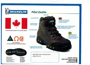 "6""  CSA Michelin Work Boots 1/2 Price"