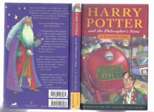 Harry Potter and the Philosopher's Stone hardcover Canadian