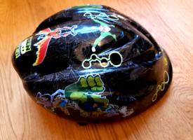 Junior bike helmet