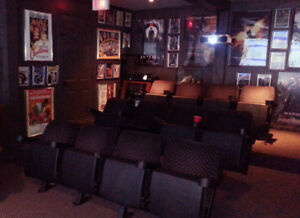 Movie theater chairs - 12 pieces for $250