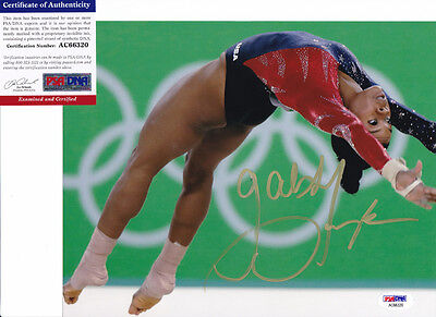 Gabrielle Gabby Douglas Rio Olympics Signed Autograph 8X10 Photo Psa Dna Coa  5