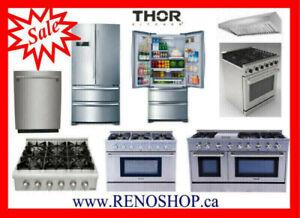 Gas Range, Refrigerator --- New best price, Open box upto 40%OFF
