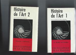 HISTOIRE DE L'ART 4 TOMES ENCYCLOPÉDIE DE LA PLÉIADE COMME NEUF