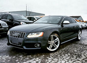 2009 AUDI S5 | NAVIGATION | WHITE LEATHER | ACCIDENT FREE |