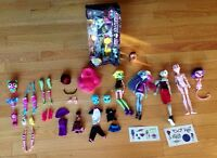 Monster High doll (new in box) and other MH dolls and parts