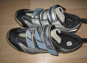 Shimano cycling shoes, EU 39 (women's 7) good condition