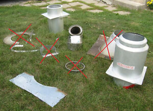Chimney Stove Pipe Parts from Stainless Steel Insulated Chimney Kingston Kingston Area image 1