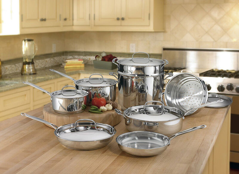 Top 10 Stainless Steel Cookware Sets Ebay