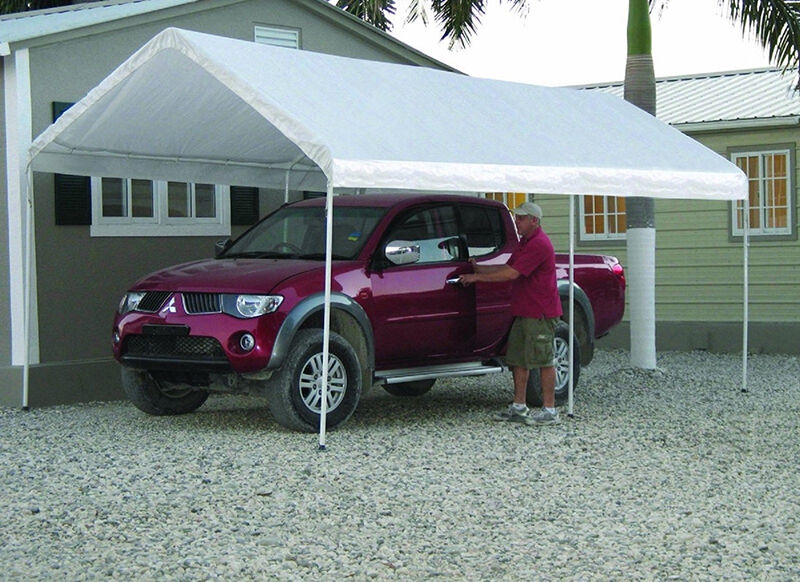 Awnings For Cars : How to build a car canopy ebay