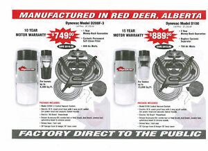 DYNOVAC CENTRAL VACUUM SYSTEMS - MADE IN RED DEER