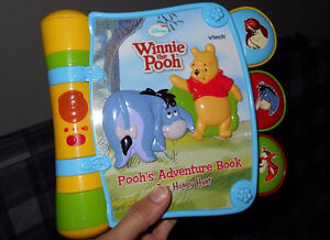 VTech Baby Pooh's Adventure Book