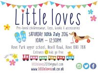 Little loves children's pre-loved sale!