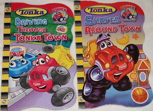 Tonka Chuck & Friends Driving Through Town & Shapes BOARD Books