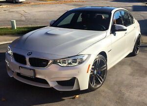 2016 BMW M3 Sedan w/ M Performance Exhaust