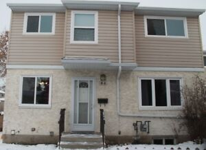 Newly Renovated and Painted 3 Bedroom Townhouse in Clareview