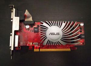 PCI VIDEO CARD - Asus ATI Radeon HD6450 1 GB DDR3 VGA/DVI/HDMI
