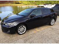 Lexus CT200h hybrid SE-L 2012 only 50,000 miles FLSH