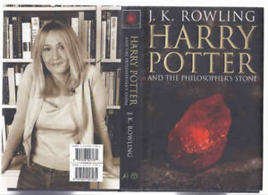 Harry Potter and the Philosopher's Stone -adult 1st edition