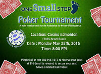 One SMALL Step Charity Poker Tournament