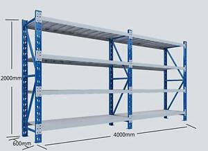 NEW HD Longspan  Warehouse Racking Storage Shelving Rack Garage Sunnybank Brisbane South West Preview
