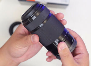 SONY SEL 55-210MM e-mount (aps-c)