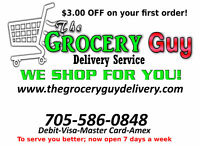 Delivery driver for groceries