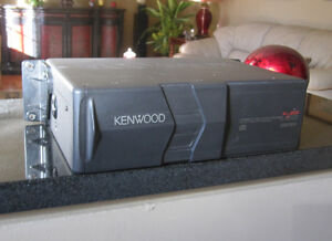 Kenwood Excellon CD Deck with 10 Disc CD Changer Windsor Region Ontario image 2