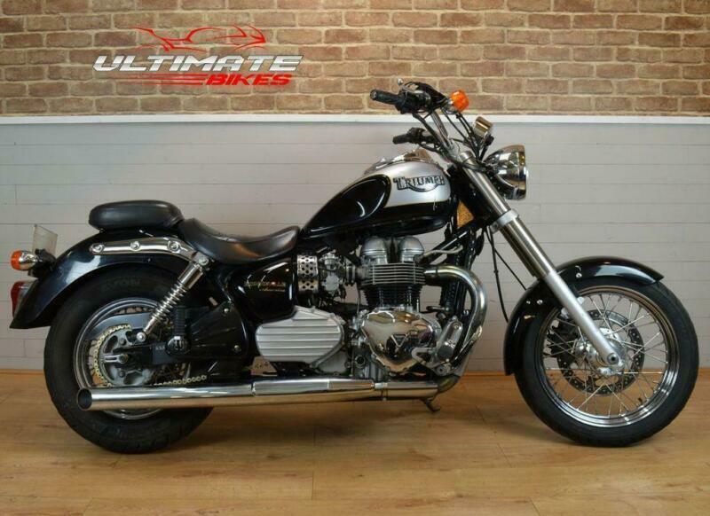 2002 02 Triumph Bonneville America Sold In Bristol