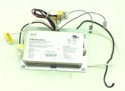 dmf Light ESM020W-0280-42 Led Driver 120-277V 5-/60Hz, Suitable for triac dimmer