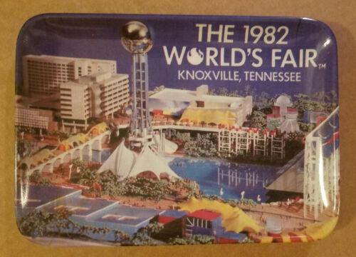Vintage 1982 World's Fair Souvenir Melamine Tray  Knoxville Tenn.