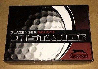 74e568825a slazenger select distance golf balls box of 12