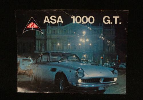 Original ASA 1000 GT Brochure